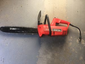 Toro electric chainsaw for Sale in Hudson, NH