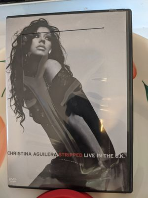 Christina Aguilera concert dvd for Sale in Roxana, IL