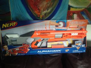 New in the box Nerf Alpha Hawk Rifle for Sale in Lacey, WA