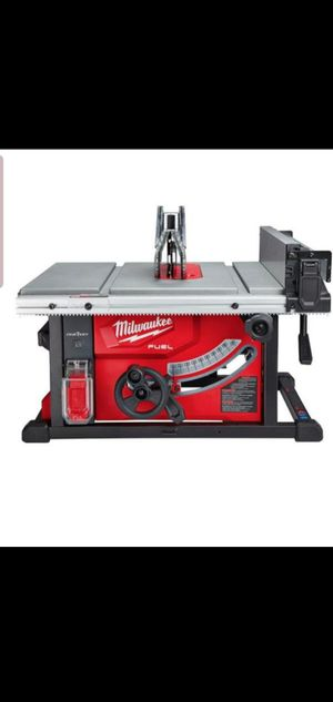 MILWAUKEE M18 FUEL BRUSHLESS ONE KEY TABLE SAW 8 IN for Sale in Colton, CA