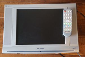 Sylvania TV w/ built in DVD and CD player & Remote, Great for Boat, RV, etc! for Sale in Aptos, CA