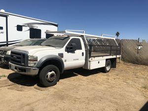 2008 ford f450 utility flatbed for Sale in Corona, CA