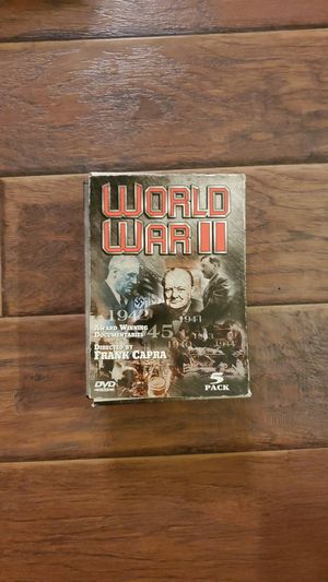 DVDs - WWII 5 Disc Documentary for Sale in San Clemente, CA