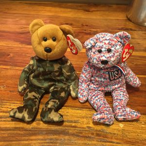 USA & Hero TY Beanie Babies. for Sale in Vancouver, WA