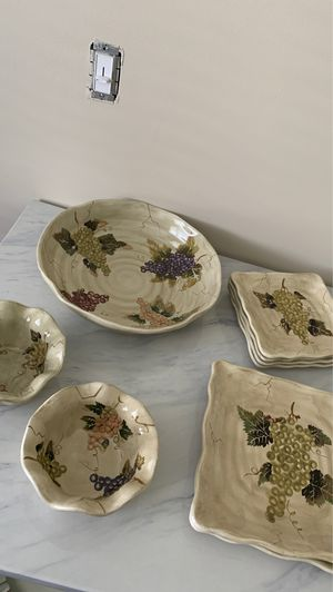 Serving plate set for Sale in Marlboro Township, NJ