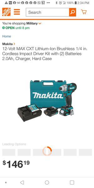 NEW MAKITA IMPACT 12V DRILL for Sale in San Antonio, TX