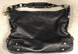 Coach Carly Hobo Shoulder Bag (Black Leather/Gold) for Sale in Oakland, CA