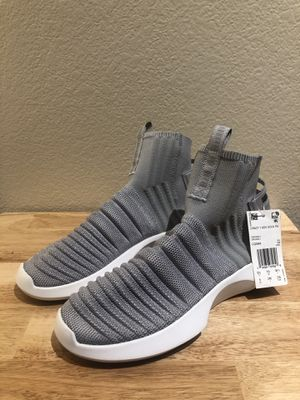 Adidas Crazy 1 ADV Sock grey/white Shoes - Size 6 for Sale in Glendale, AZ