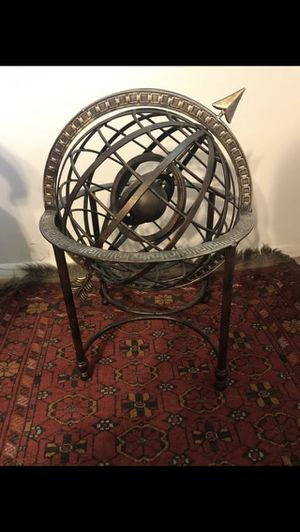 Decorative cast iron astrolabe for Sale in Springfield, VA
