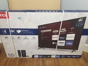 """55"""" Smart TV brad new for Sale in Worcester, MA"""