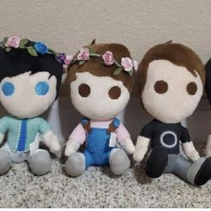 Dan and Phil Plushies and Book for Sale in Longmont, CO