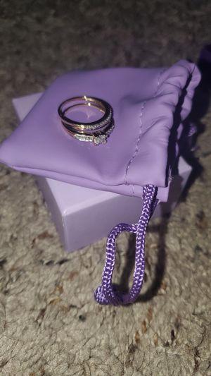 Wedding ring, Promise Ring Set 10K Gold For Women for Sale in Fort Myers, FL