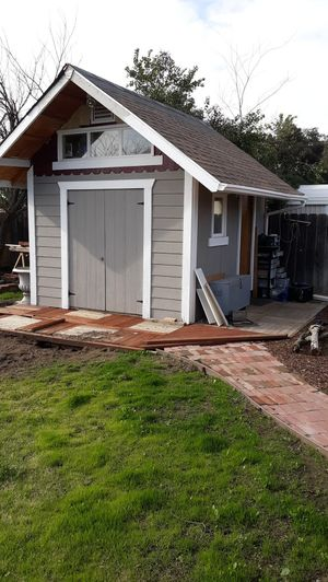 Custom built shed for Sale in Manteca, CA