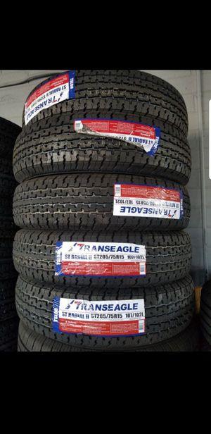 St205 75 15 brand new trailer tires $50 each for Sale in Phoenix, AZ