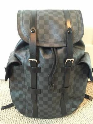 SELL TODAY - Pre Owned LOUIS VUITTON Damier Graphite Christopher Backpack for Sale in Queens, NY
