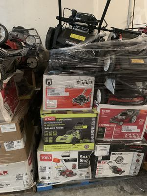 Wholesale Liquidation Pallets- Lawnmowers for Sale in College Park, GA