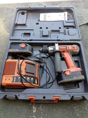 Ridgid 18 volt drill for Sale in Stuart, FL