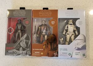 Hasbro Star Wars Black Series Carbonized Set for Sale in Fort Worth, TX