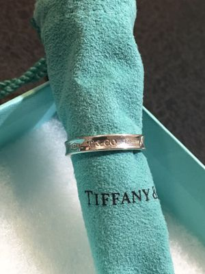 tiffany & co 1837 slim band sz 7 for Sale in Greenfield, MA