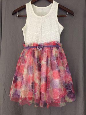 Girls Flower Dress size 7/8 Medium for Sale in Buena Park, CA