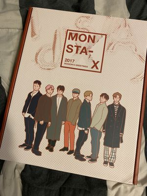 Kpop Monsta X 2017 Season's Greetings (No Poster) for Sale in Laredo, TX