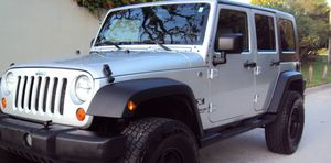 Fullyy a/c 07 Suv Jeep V6 4X4 $1800 Wrangler Unlimited for Sale in Sunnyvale, CA