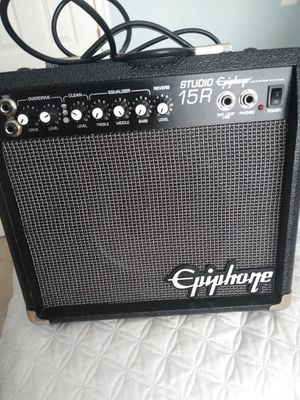 Epiphone amplifier for Sale in Manassas, VA