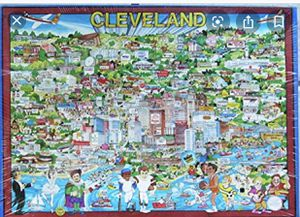 Cleveland Jigsaw Puzzle-504 pieces for Sale in Pepper Pike, OH
