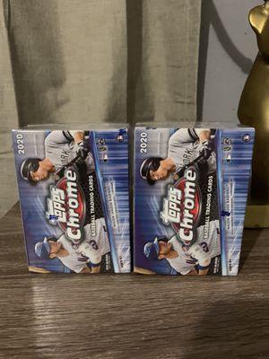 Topps Chrome 2020 Baseball Cards for Sale in Arlington, TX