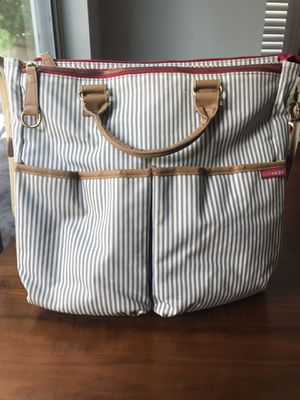 Skip Hop DUO essential diaper bag French Strip for Sale in Tampa, FL