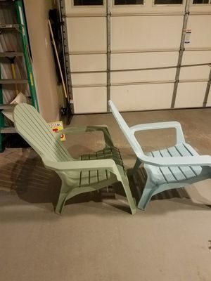 Outside chair 2 items for Sale in Aldie, VA