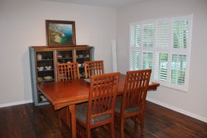 Mission Style Dining Table and Chairs for Sale in Pensacola, FL