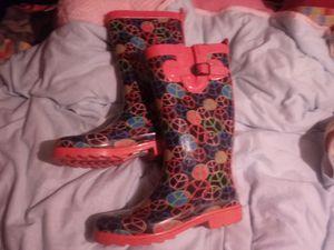 Rubber rain boots for Sale in Spokane, WA