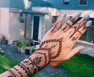 Temporary tattoo henna cones for Sale in Alexandria, VA