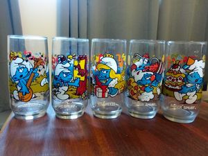 Collectible Smurf glasses for Sale in Cottonwood Heights, UT
