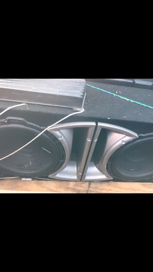 Speakers & Amp for Sale in Harrisonburg, VA