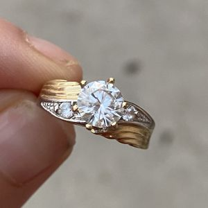 Solid 14k Moissanite Engagement Ring for Sale in West Palm Beach, FL