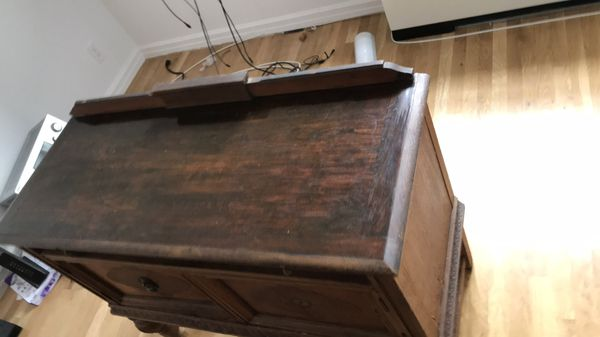 Antique Wooden Sideboard