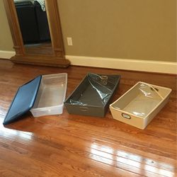 Three Underbed Bins for Sale in Holly Springs,  NC