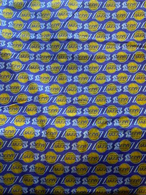 LAKERS COTTON FABRIC BY THE YARD 100% cotton (CLEARANCE SALE ) SALE SALE SALE SALE for Sale in Los Angeles, CA