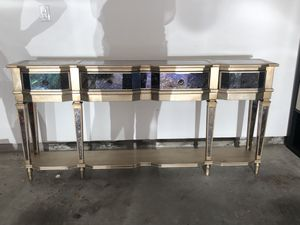 Gorgeous high end console table for Sale in Houston, TX