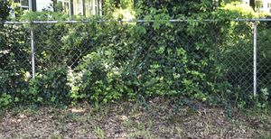 Chain link fence 90ft long x 4ft high with 9 post concreted to the ground. You will need to pull it up or cut them off and haul away yourself. Locate for Sale in Concord, NC