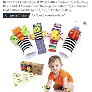 Infant Wrist & Sock Rattles for Sale in The Bronx, NY
