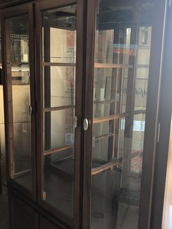 Cherry China Cabinet for Sale in Oregon City,  OR