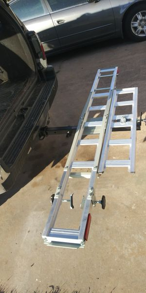 Moto bike carrier with ramp for Sale in Austin, TX