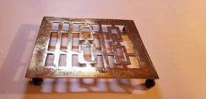 Antique brass trivet marked CHINA for Sale in Yakima, WA
