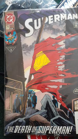 2 Issue 2 death of superman comic for Sale in Columbus, OH