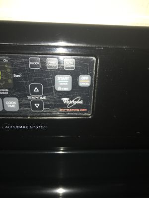 Whirlpool stove & Kenmore fridge for Sale in Denver, CO