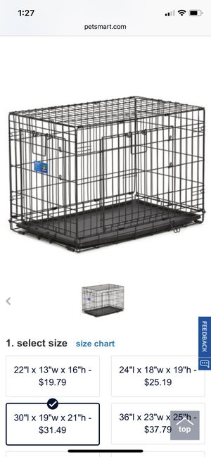 Pet/ Dog Crate for Sale in San Francisco, CA