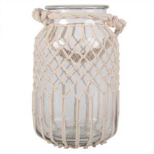 Large Macrame Lantern Jar for Sale in Brooklyn, NY